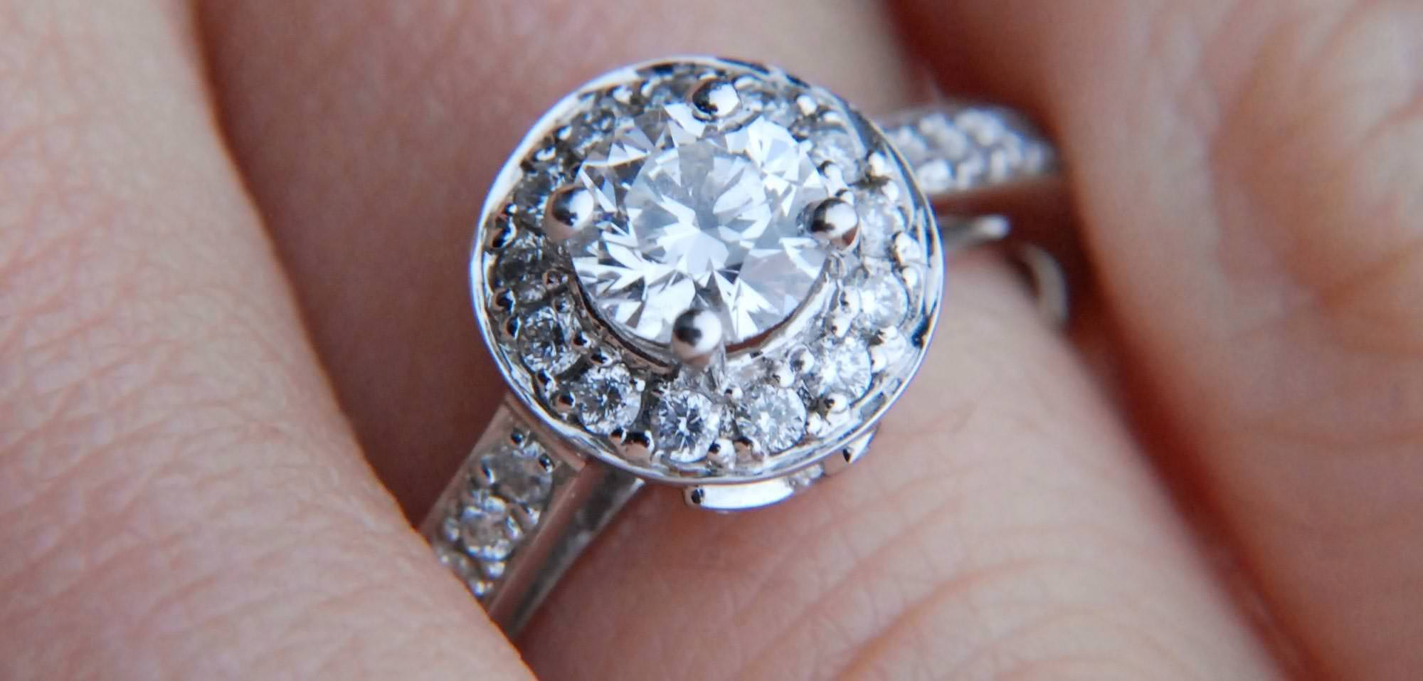 0e9252a8069bd What Is a Halo Ring? | Jewelry Wise